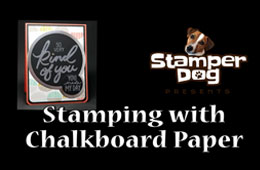 How to Use Chalkboard Paper Video Tutorial