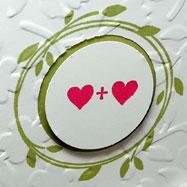 Spring Wedding Card