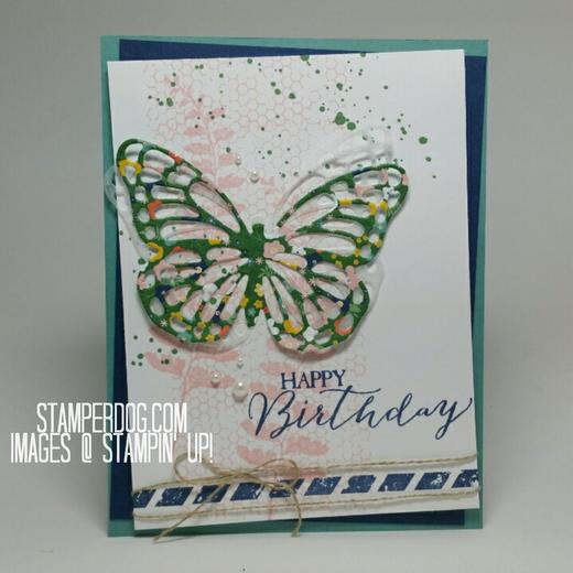 Cynthia's Butterfly Card