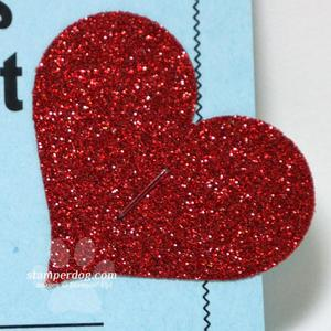 Glitter Valentine Heart