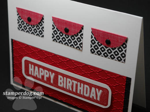 Birthday Purse Card