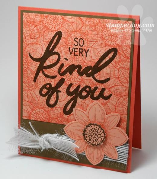 Flowery Thank You Card