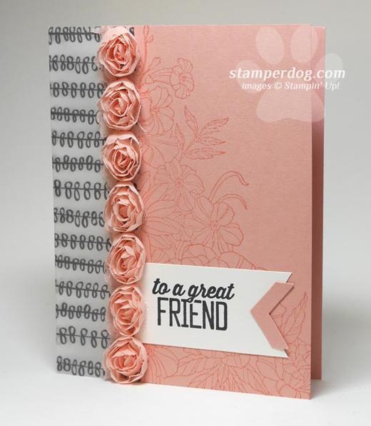 Vellum Rose Card