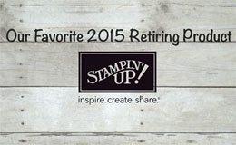 STICKY:  Readable Stampin' Up! Retirement Lists