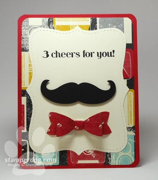 Masculine Greeting Card