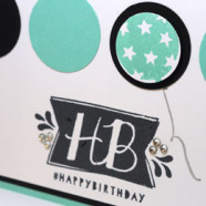 Make Your Birthday Cards Quick & Easy
