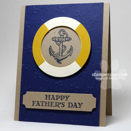 Masculine Nautical Card