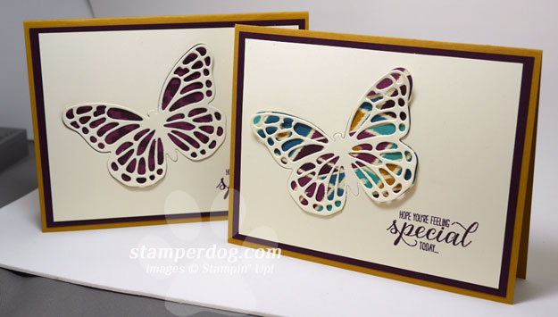Free Butterfly Card