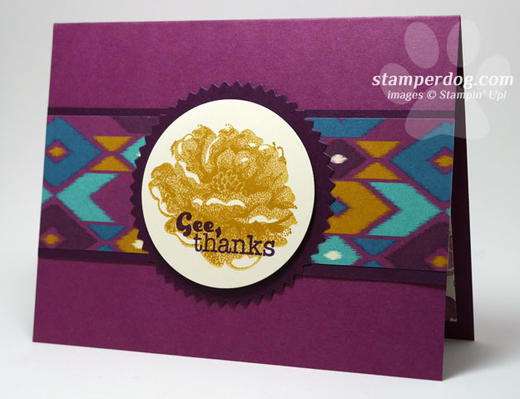 Sneak Peek Thank You Card