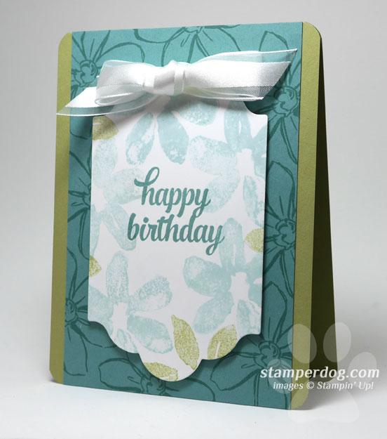 Spring Birthday Card