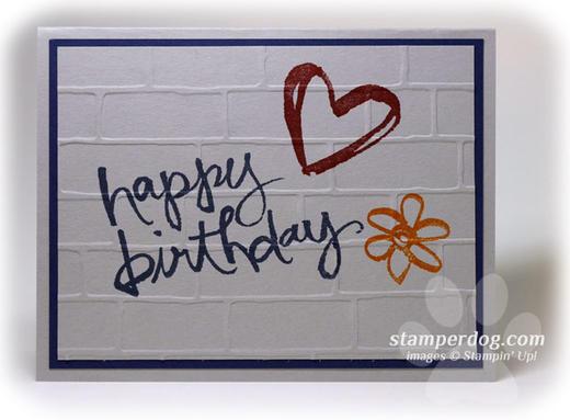 Graffiti Birthday Card