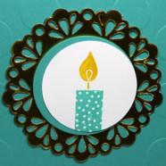 Build a Birthday Card Off Center