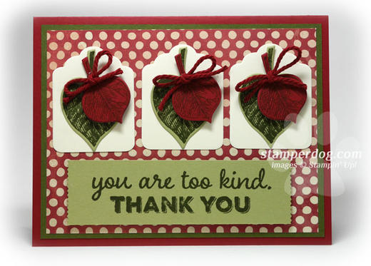 Country Thank You Card
