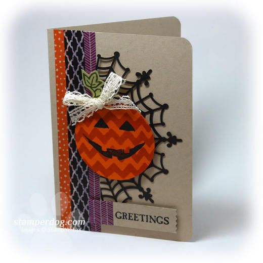 Kraft Halloween Card
