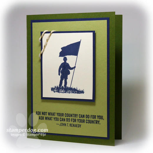 Patriots Day Card