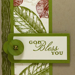More Quick & Fun Vintage Leaves Card