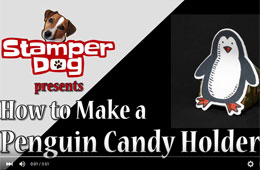 Holiday Penguin Candy Holder Video