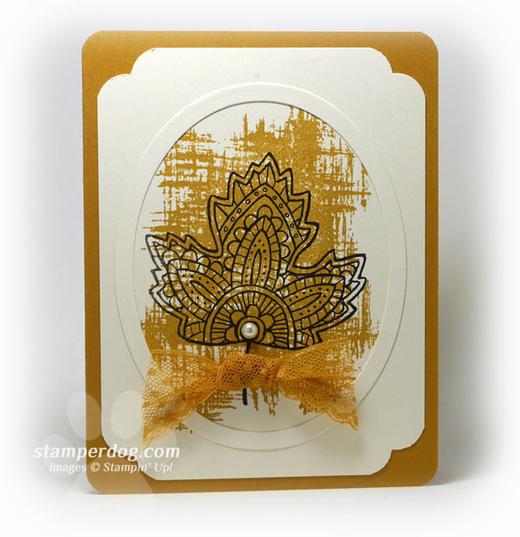 Dijon Frame Card