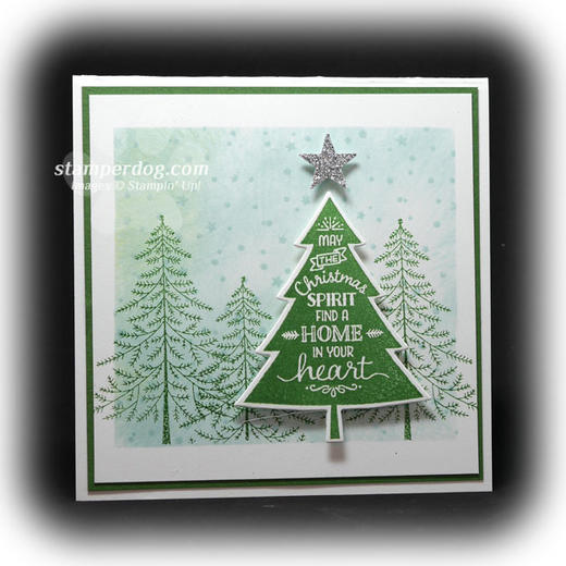 Stampin' Up! Little Square Card