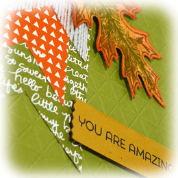 Bright Fall Thank You Card