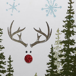 Phantom Rudolph Christmas Card