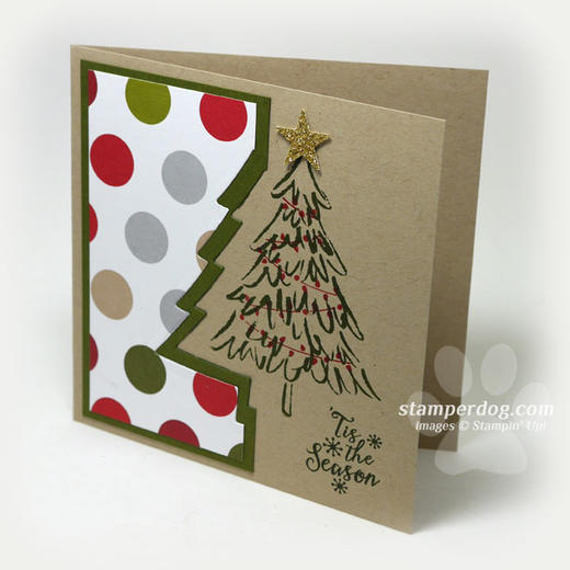 Square Christmas Card