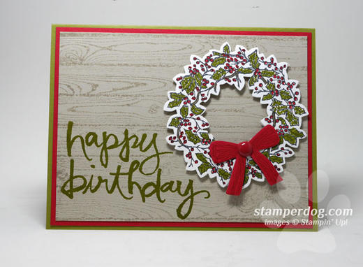 Do You Need a Christmas Birthday Card? | Stampin' Up! Demonstrator ...