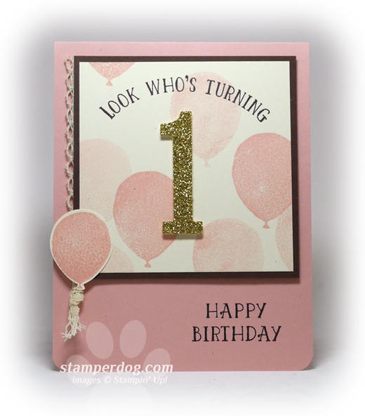 Baby Birthday Card