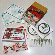 Christmas Gift Box of Cards