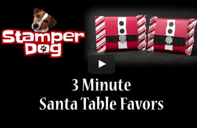 DIY Santa Candy Table Favors Video