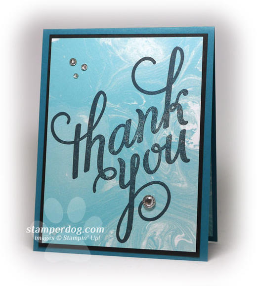 Quick & Simple Thank You Card