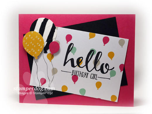 Quick and Easy Birthday Card