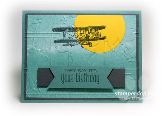 Disappearing Masculine Birthday Card Stampin Up Demonstrator Ann
