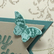Perfect Little Butterfly Birthday Card