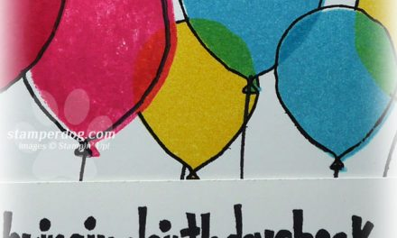 Bright Balloon Birthday Card
