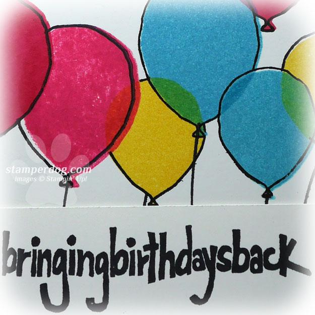 Bright Balloon Birthday Card