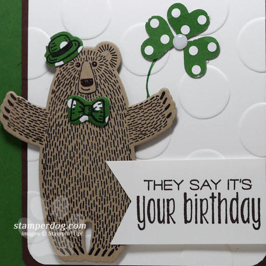 March Birthday Card