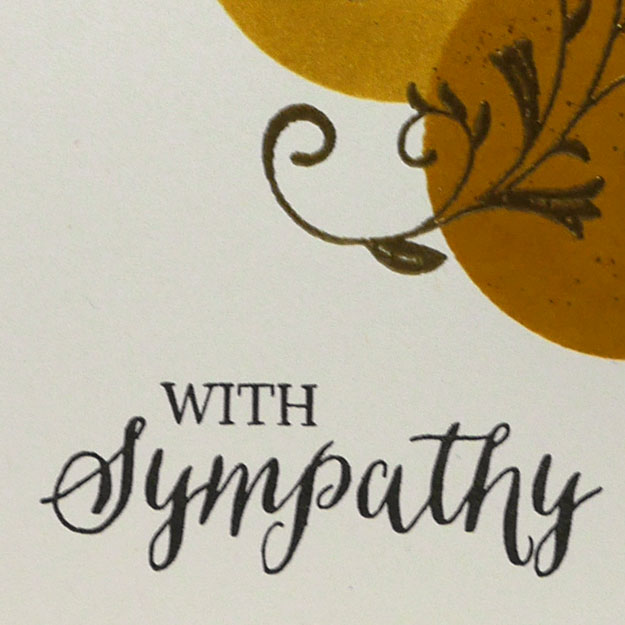 We Interrupt This Bark for a Sympathy Card Idea