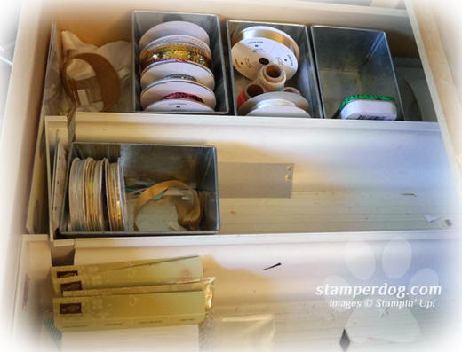 Empty Ribbon Drawer