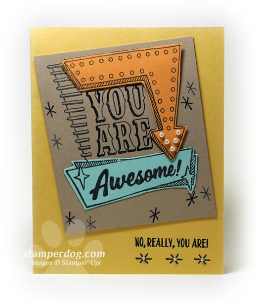Awesome Handmade Card
