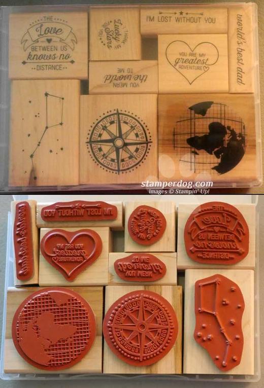 Going Global Stamp Set