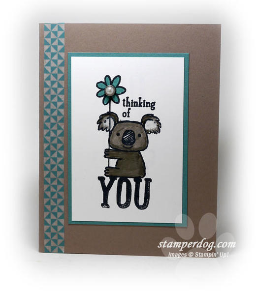 Thinking of You Koala Card
