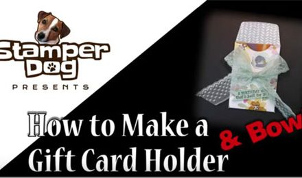 How to Video:  Gift Card Holder & Bow