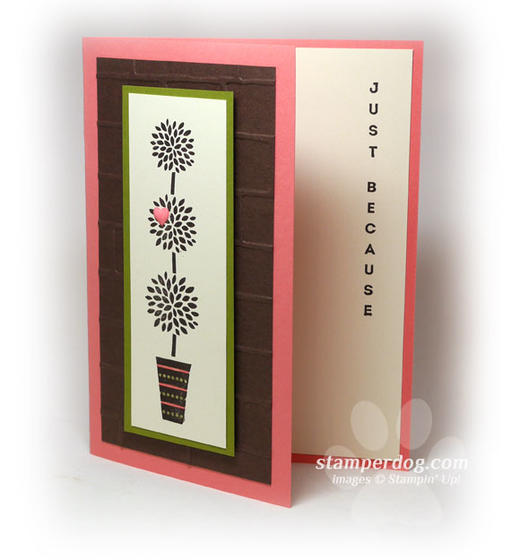 Vertical Greeting Card