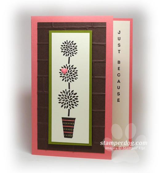 Vertical Greeting Card