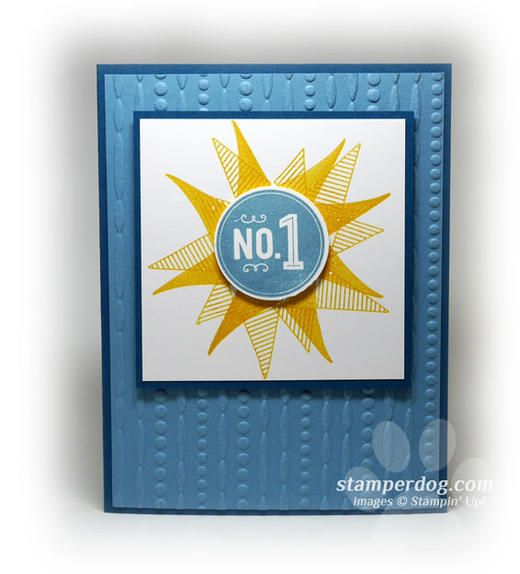 Number One Card
