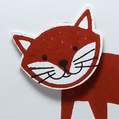 My First Foxy Friend Thank You Card