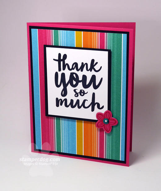 Super Simple Thank You Card