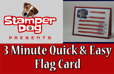 Quick & Easy Flag Card How To Video