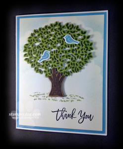 Thoughtful Branches Thank You Card